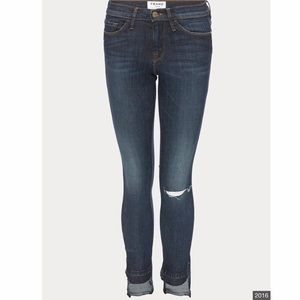 Frame Le High Straight Jeans Size 28 J1